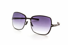 Stylish black sunglasses. Royalty Free Stock Photos