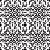 Stylish Black And White Geometric Graphic Pattern Royalty Free Stock Photos