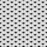 Stylish Black And White Monochrome Geometric Graphic Pattern Vec Royalty Free Stock Photo