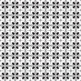 Stylish Black And White Monochrome Geometric Graphic Pattern Vec Royalty Free Stock Photography