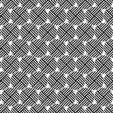 Stylish Black And White Monochrome Geometric Graphic Pattern vector illustration