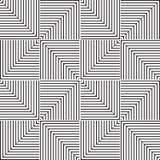 Stylish Black And White Monochrome Geometric Graphic Pattern VecStylish Black And White Monochrome Geometric Graphic Pattern Royalty Free Stock Photography