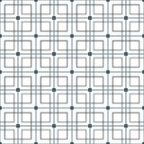 Stylish Black And White Monochrome Geometric Graphic Pattern Stock Photography