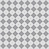 Stylish Black And White Monochrome Geometric Graphic Pattern Vector Stock Photo