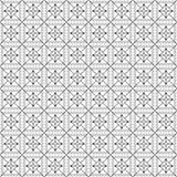 Stylish Black And White Monochrome Geometric Graphic Pattern Stock Image