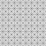 Stylish Black And White Monochrome Geometric Graphic Pattern Vector Stock Photos