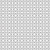 Stylish Black And White Monochrome Geometric Graphic Pattern Vec Royalty Free Stock Image