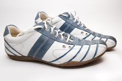 Stylish boots Royalty Free Stock Photo
