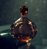 Stylish bottle of perfume Stock Photos