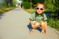 Free Stylish Boy In Sunglasses, Summer Outdoors Stock Photography - 34549392