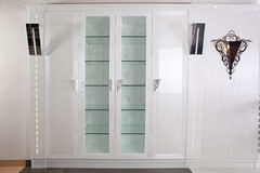Stylish and brand new cabinet Stock Photography