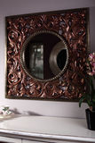 Stylish and brand new cabinet with mirror Royalty Free Stock Photo