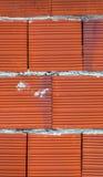 Stylish brick wall background. Closeup royalty free stock images