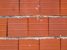 Stylish brick wall background. Closeup stock photography
