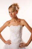 Stylish bride Stock Photos