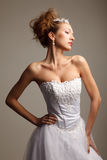 Stylish bride Royalty Free Stock Photo
