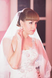 Stylish bride and groom Stock Photography
