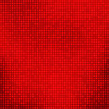 Stylish bright red abstract background with tiny squares Royalty Free Stock Images