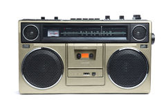 Stylish Bronze Boombox Stock Photos