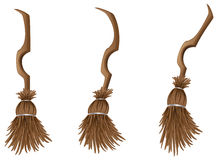 Stylish broom Royalty Free Stock Photography