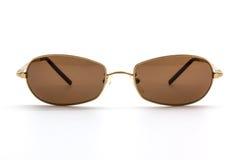 Stylish brown sunglasses. Stock Image
