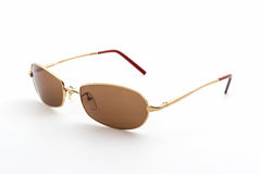 Stylish brown sunglasses . Stock Image