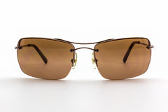 Stylish brown sunglasses. Stock Images