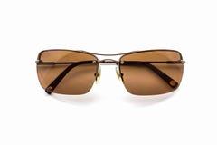 Stylish brown sunglasses. Stock Photo