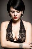 Stylish brunette Stock Photo