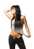 Stylish brunette Stock Photography