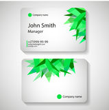 Stylish business card template. Vector illustration. vector illustration