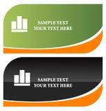 Stylish business cards Stock Photography