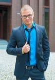 Stylish businessman. Royalty Free Stock Photo
