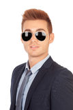 Stylish businessman with sunglasses Royalty Free Stock Image