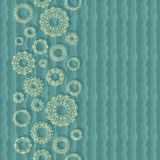 Stylish Card With Lace Patterns Stock Photos