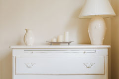 Stylish chest of drawers Stock Photography