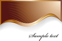 Stylish chocolate background Royalty Free Stock Images