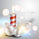 Stylish christmas background Stock Photos