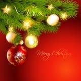 Stylish christmas background Royalty Free Stock Images