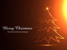 Stylish christmas background Stock Photography