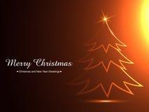 Stylish christmas background Stock Photography