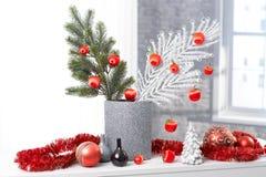 Stylish christmas decoration Royalty Free Stock Photography