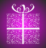 Stylish Christmas Gift Royalty Free Stock Images
