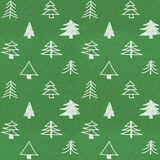 Stylish christmas tree pattern Royalty Free Stock Photos