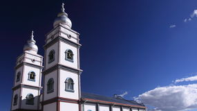 Stylish Church in El Alto, Bolivia Royalty Free Stock Images