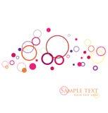 Stylish circles Royalty Free Stock Photography