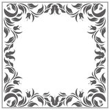 Stylish classic frame with place for your text Royalty Free Stock Photo