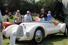 Stylish classic 1930s italian sporst car Stock Images