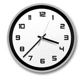 Stylish clock Royalty Free Stock Photo