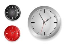 Stylish clock Royalty Free Stock Images